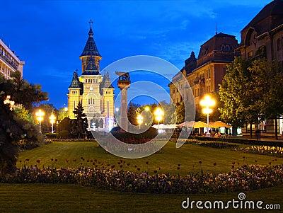 Victory Square, Timisoara, Romania