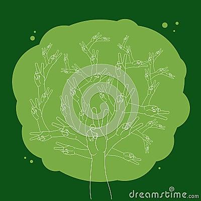 Victory tree