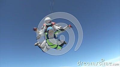 Vidéo de parachutisme