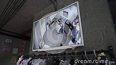 Video bevakning i älsklings- salong
