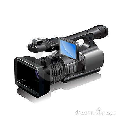 Free Video Camera Royalty Free Stock Image - 13604556
