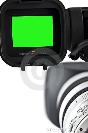 Free Video Camera Stock Photo - 13804890