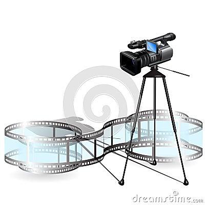 Free Video Camera Stock Photography - 13943842