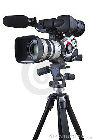 Free Video Camera Royalty Free Stock Photo - 16159575