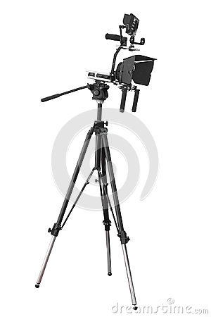 Video Camera Royalty Free Stock Image - Image: 25209086