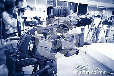Video camera blue tint