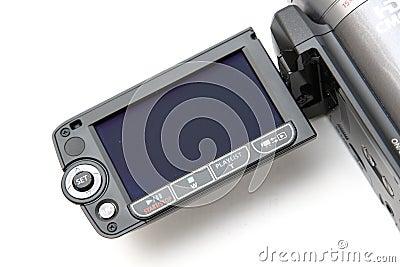 Video camera LCD screen