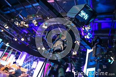 Video camera - recording show