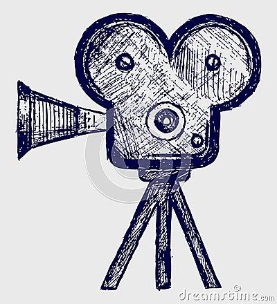 Video camera sketch
