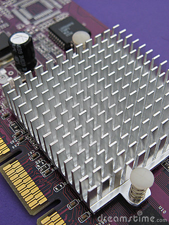 Video card heat sink