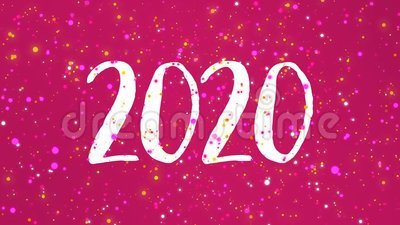 Auguri Di Buon Natale 2021 Video.Video Della Cartolina Di Auguri Di Buon Anno 2021 In Rosa Scintillante Archivi Video Video Di Luminoso Movimento 168589475