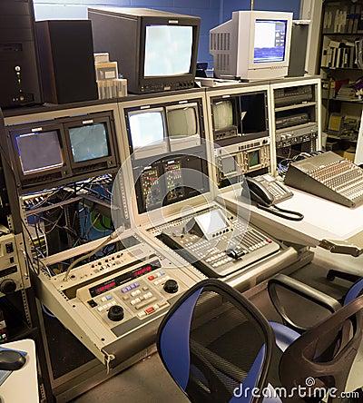 Video della TV che stampa console