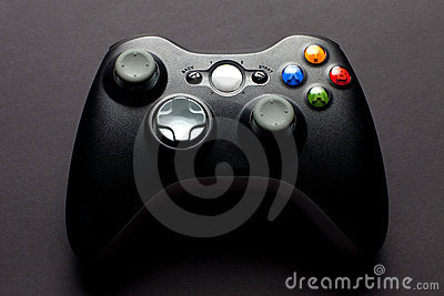 Video game controller Editorial Image
