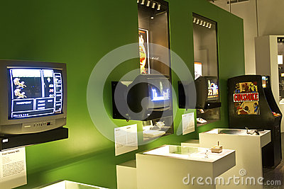 Video Game exhibition Editorial Photography
