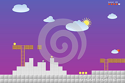 Video game location, arcade games