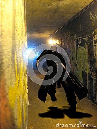 Free Video Game Man Running Stock Photography - 3336252