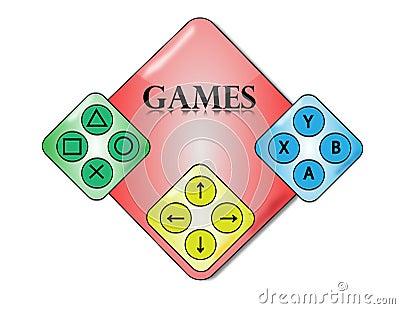 Video games symbol