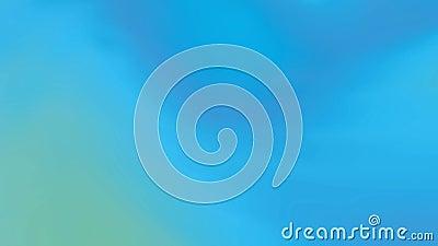 Video mit abstraktem Steigungshintergrund mit verschiedenen Effekten und Übergängen Blau, Grün Dynamisch, Bewegungsart Geschlunge lizenzfreie abbildung