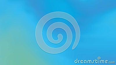 Video mit abstraktem Steigungshintergrund mit verschiedenen Effekten und Übergängen Blau, Grün Dynamisch, Bewegungsart Geschlunge stock abbildung