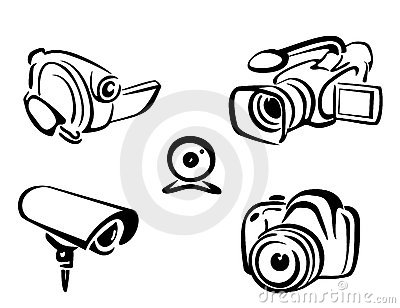 Video and photo cameras collection