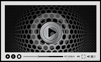 Video player for web,