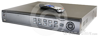 Video recorder with remote control
