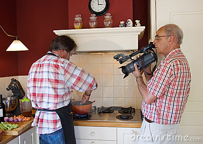 Video shoot cooking Show