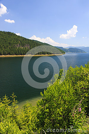 Vidra mountain Lake