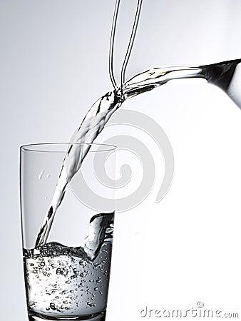 Vidrio de agua