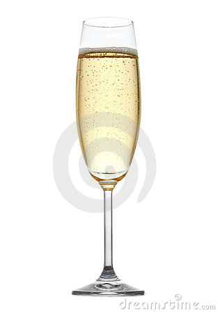 Vidrio de champán