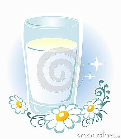 Vidrio de leche