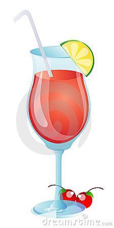 Vidrio del zumo de fruta