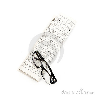 Vidrios, pluma y fondos mutuos en el periódico