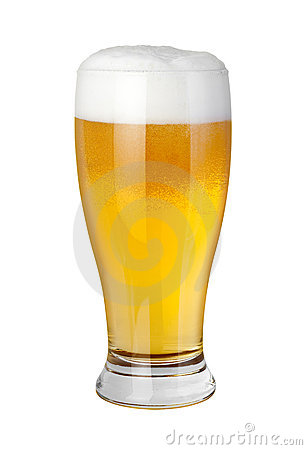 Vidro de cerveja