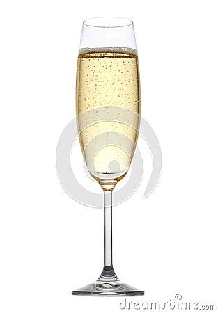 Vidro do champanhe