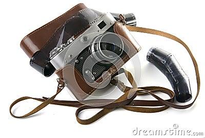 Vieil appareil-photo