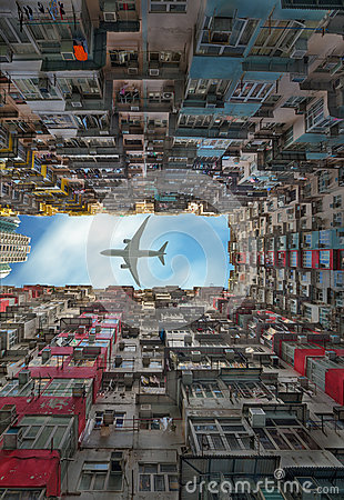 Vieil Appartement En Hong Kong Photo stock - Image: 59265588