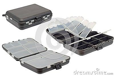 Vieille boîte à outils d isolement