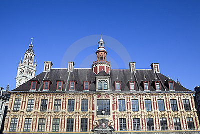 Vieille Bourse on the Grand Place in Lille