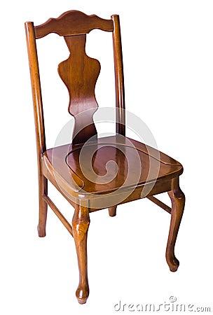 vieille chaise en bois style de vintage image libre de droits image 34519446. Black Bedroom Furniture Sets. Home Design Ideas