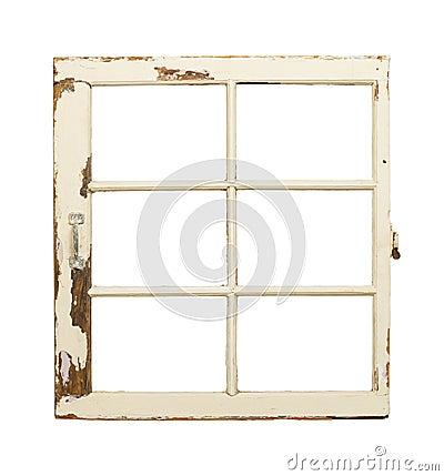 Vieille fen tre fran aise de carreau photo stock image for Fenetre francaise