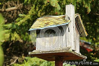 vieille maison en bois d 39 oiseau images stock image 15775254. Black Bedroom Furniture Sets. Home Design Ideas