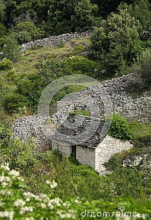 Vieille maison en pierre photographie stock image 5476262 for Vieille maison en pierre