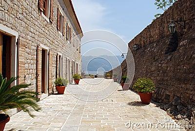 vieille terrasse italienne en pierre images stock image 15779924. Black Bedroom Furniture Sets. Home Design Ideas