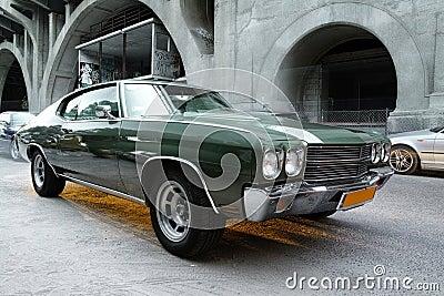 Vieille voiture de Chevrolet