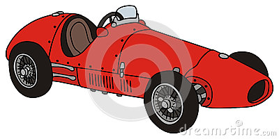 vieille voiture de course images stock image 34816654. Black Bedroom Furniture Sets. Home Design Ideas