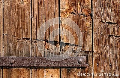 Vieja textura de madera de la puerta foto de archivo for Puerta vieja madera