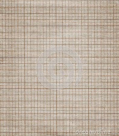 Vieja textura del papel de gráfico