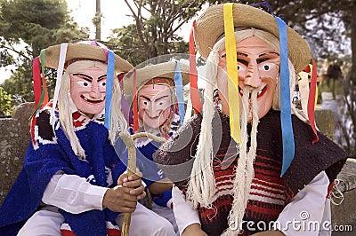 """Viejito"" or Old Men Masks"