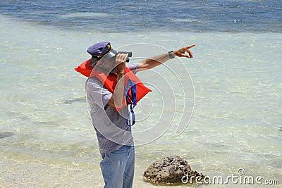 Viejo capitán de mar